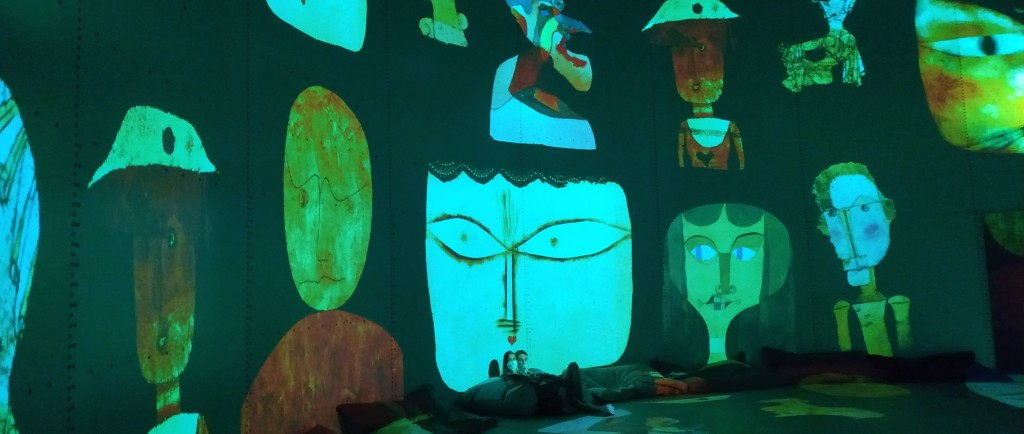 Gustav Klimt Bassins de Lumières Bordeaux