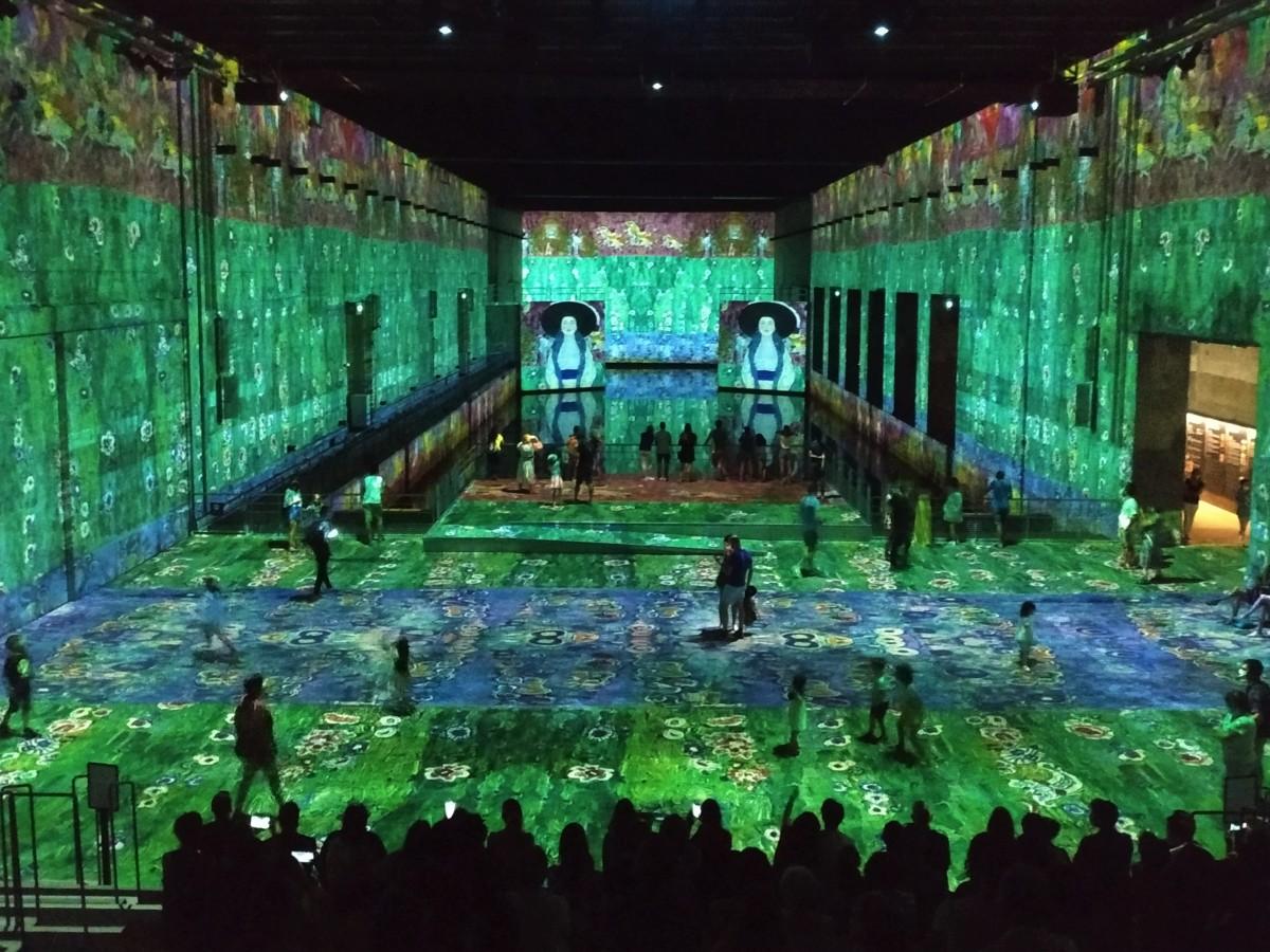 le temps d'un weekend expo du moment à Bordeaux Bassins de Lumières