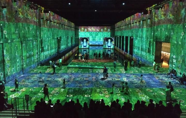 L'expo du moment à Bordeaux : Gustav Klimt aux Bassins deLumières