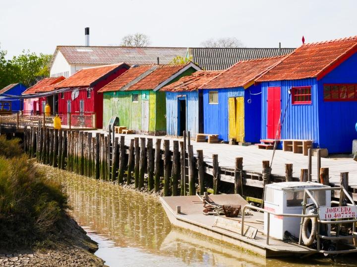 5 lieux où voir des cabanes ostréicoles colorées sur l'îled'Oléron